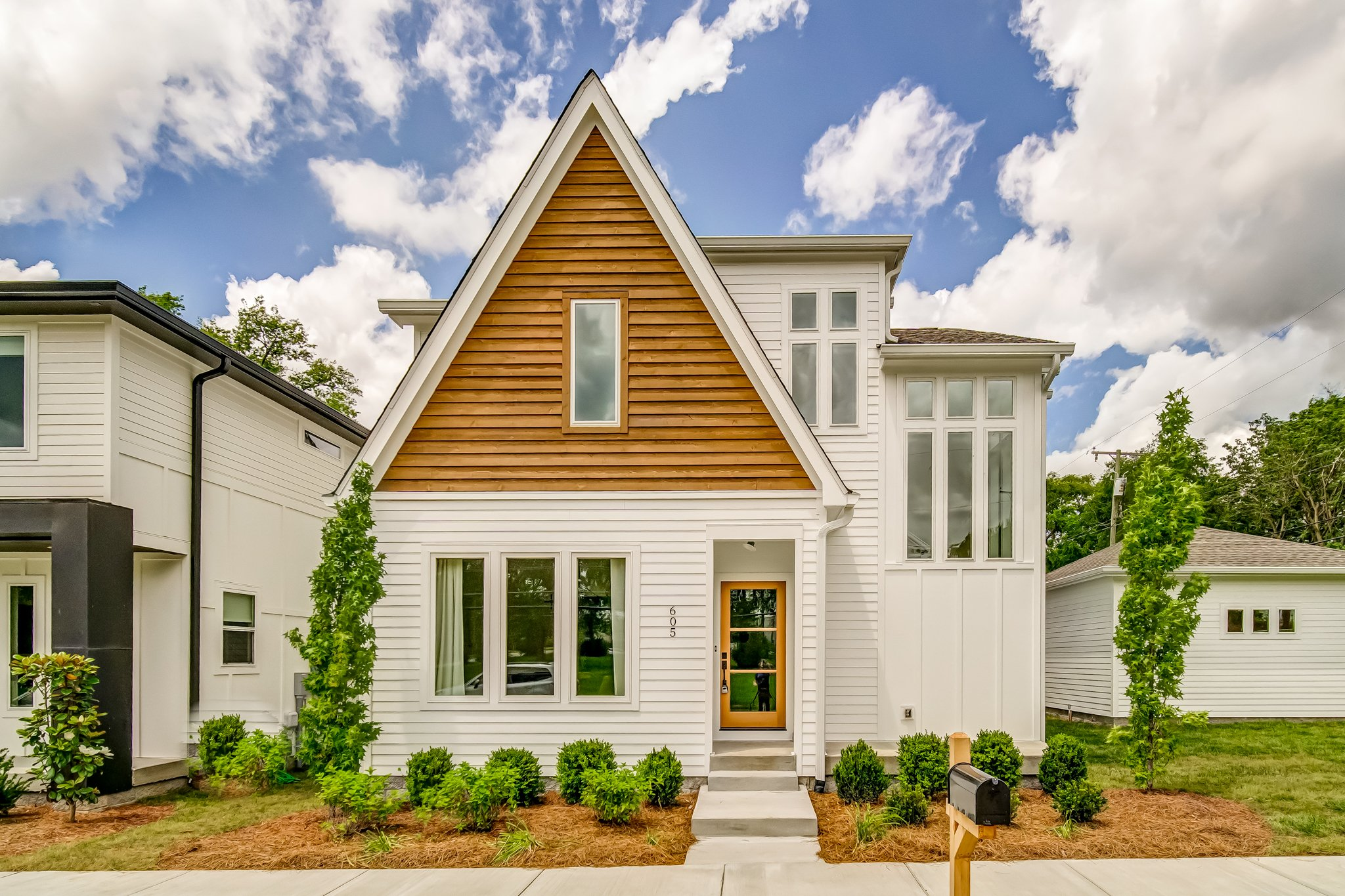 Beautiful Nashville, Tennessee home photographed by Cherokee Drone Services